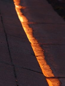 find another sunlit line's. . .